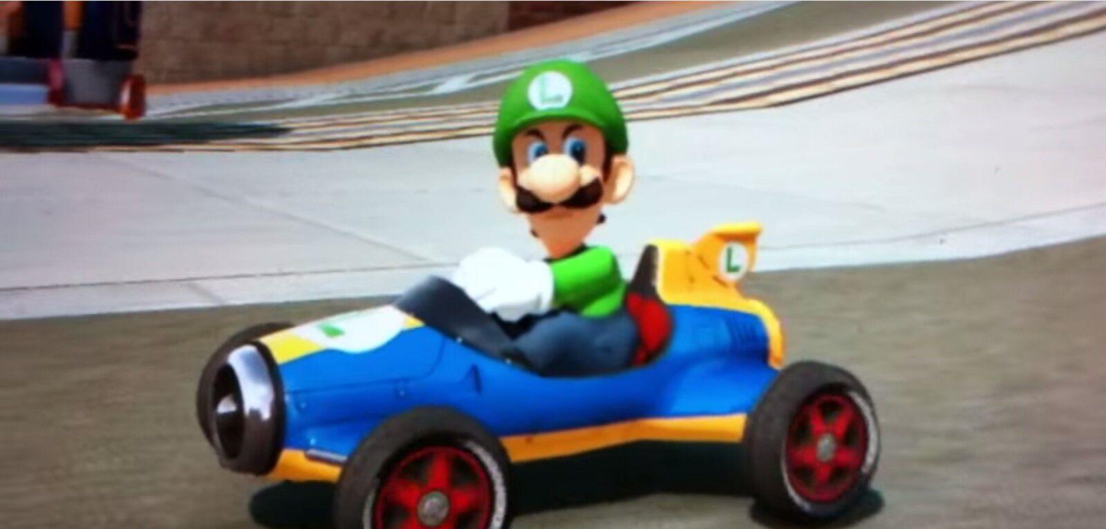 Luigi Death Stare