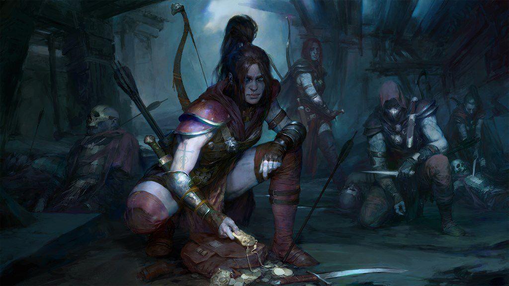 Diablo IV Rogue concept art