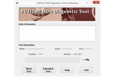 Fujitsu Diagnostic Tool for Windows v1.12