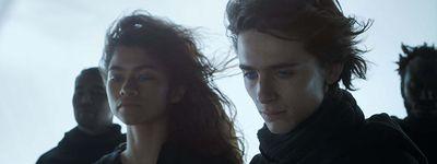 Zendaya and Timothée Chalamet in 'Dune'