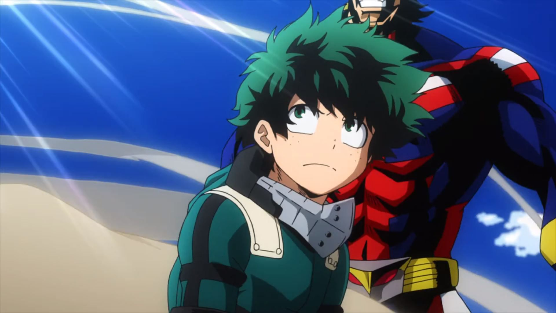 A screenshot of my hero academia