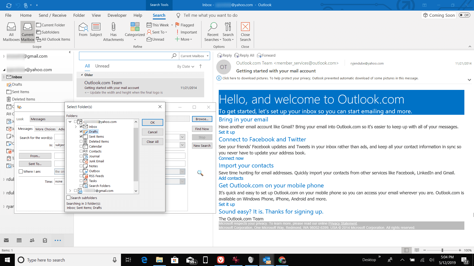 How to Check Your Outlook Folders' Sizes