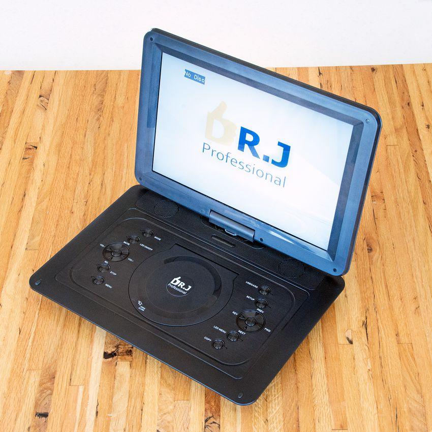 "DR. J Professional 14.1"" Portable DVD Player"