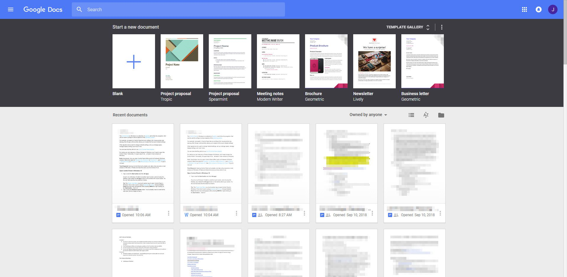 Learn About Google Docs - Google docs word processor