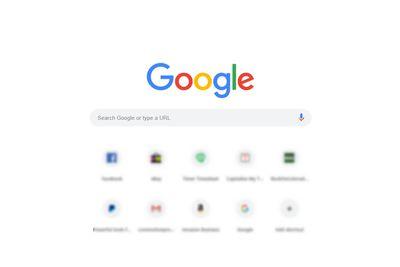 Google Search page screenshot
