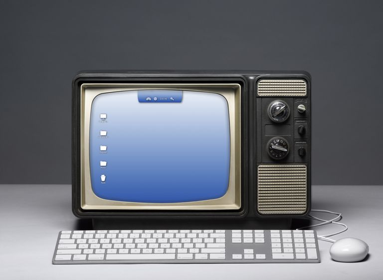 TV computer screen