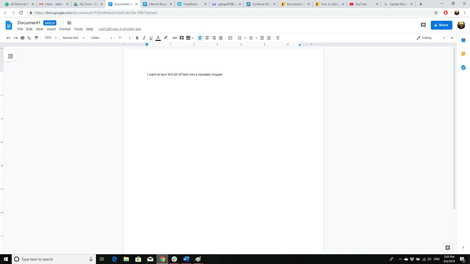 How to Upload Word Documents to Google Docs