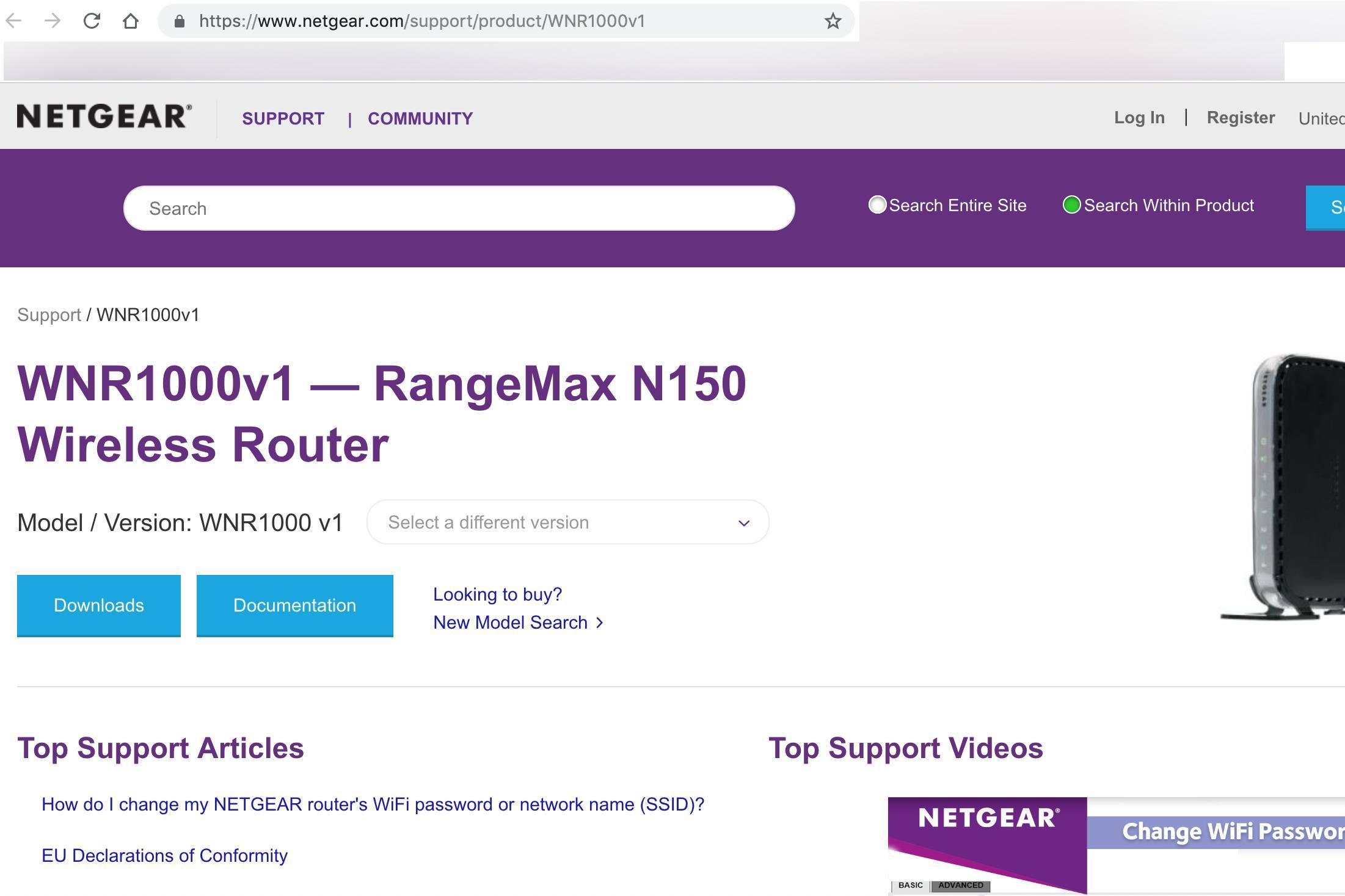 Netgear wgr614 default password