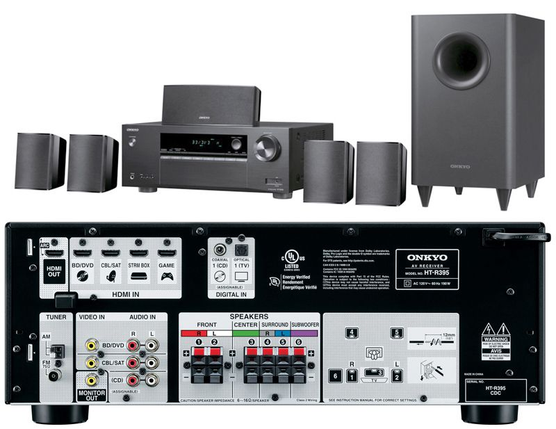 Onkyo HT-S3800 Home Theater-in-a-Box System