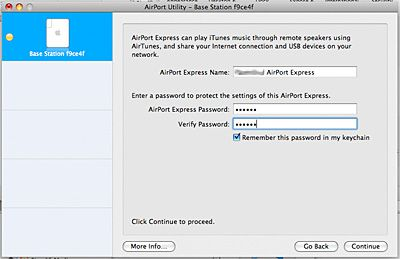 how to setup apple airport extreme