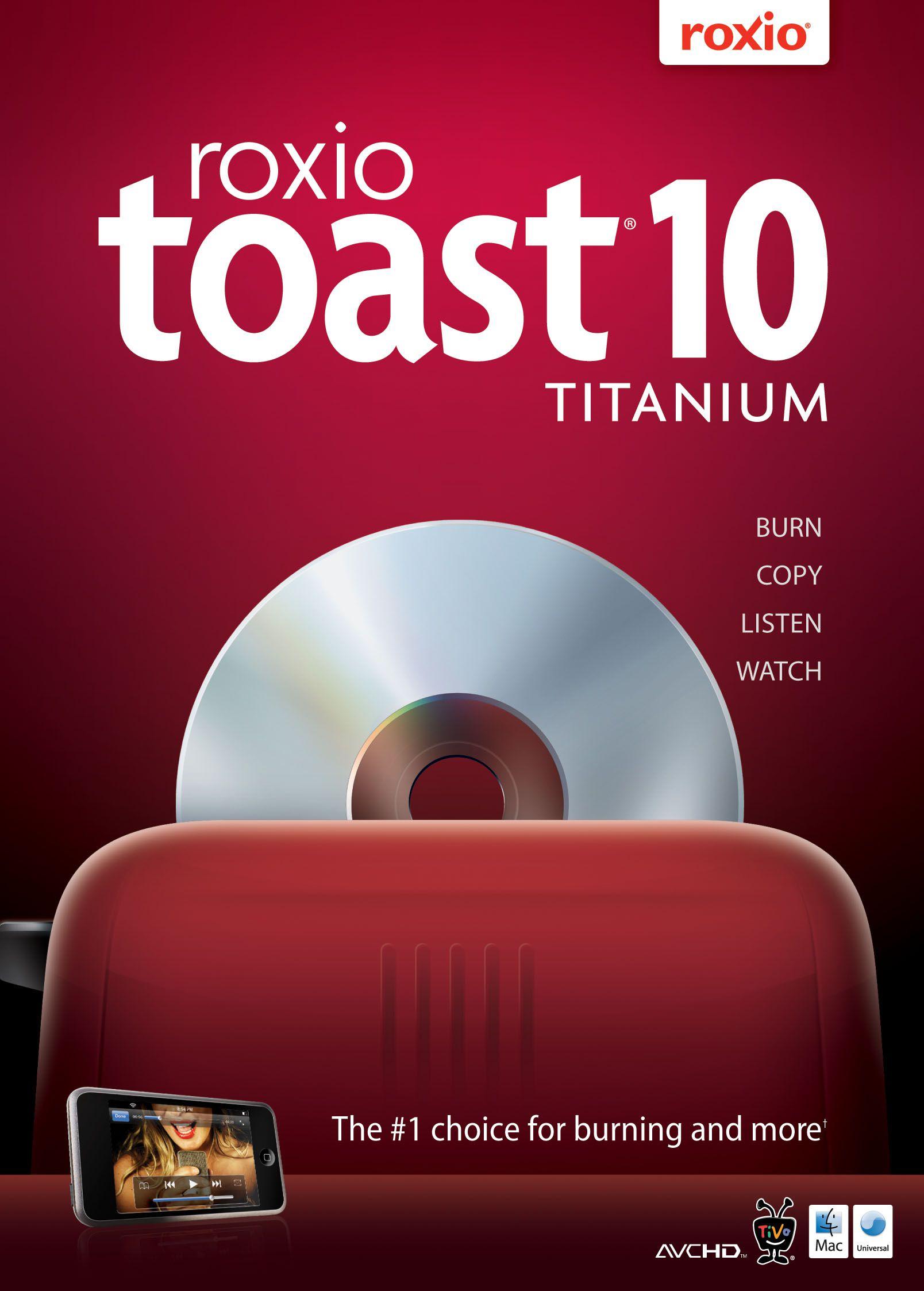 toast 6 titanium free download for mac