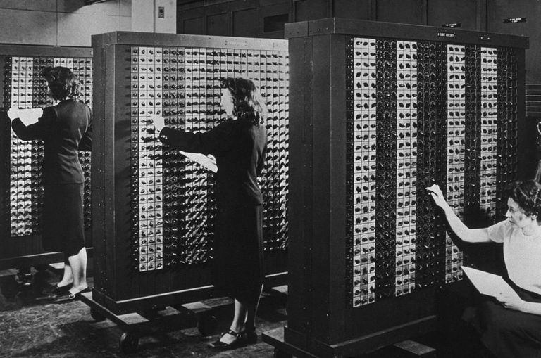 ENIAC, the first electronic computer