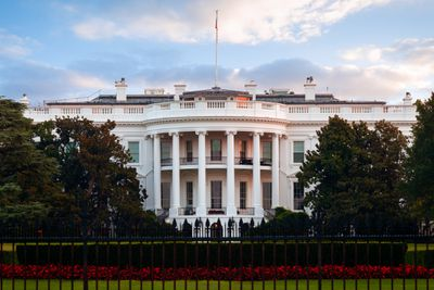 The White House South Lawn, Washington DC